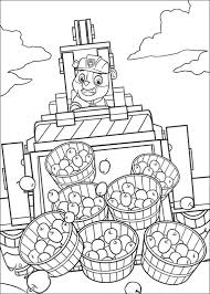 Paw Patrol Rubble Coloring Pages Coloringstar