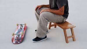 skateboard gifts skate decor for skateboarders stool chair for cave