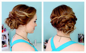 wedding updo hairstyles for long hair with an elegant impression 9