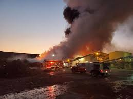 Fire erupts at Box Elder County recycling plant | ABC4 Utah