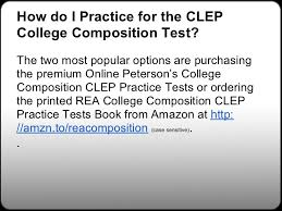 college composition clep study guides college composition  57