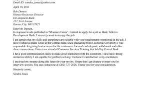 template breathtaking bank teller cover letter resume format cover letter teller position templatecover letter teller position good resume for bank teller