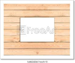 Free Art Print Of Blank A4 White Flyer Template Paper On Wooden