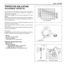 Xr400 Jetting Chart Xr400 Carb Tuning 96 97 Difference After 97 Xr250r