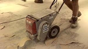 removing vinyl flooring from concrete how
