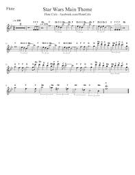 The arrangement is written in a way that gives the piece a full sound while. Star Wars Flute Music Free