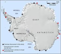 emperor penguin habitat map. Interesting Map Map Showing The Location Of Emperor Penguin  Intended Emperor Penguin Habitat R