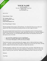 Resume Cover Letters Interesting 60 BattleTested Cover Letter Templates For MS Word Resume Genius