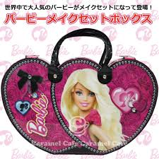 cute barbie makeup box set is in stock now children and s are surprised enhancement set makeup trying to make herself to barbie s dream