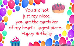 Happy Birthday To My Niece Quotes Extraordinary Birthday Wishes For Niece WishesMessages