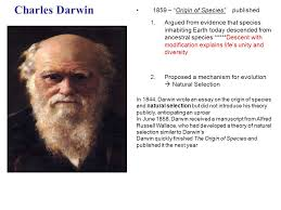 "charles darwin ""origin of species"" published ppt video  1 charles"