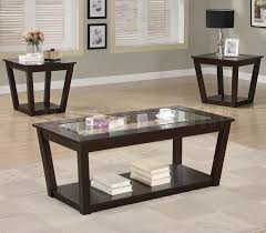 Marvelous Image Of: Glass Coffee Table Sets Cheap Photo