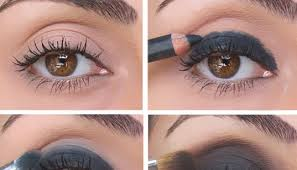 once you try it you will bee expert with a little more practice you will bee professional in doing dark chocolate smokey eye makeup