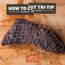 Tri Tip Meat Temperature Chart Bbqtruth There Are Two Different Grains Within Tri Tip For