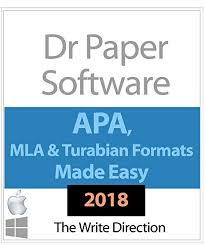 Apa Paper Writing Software Amazon Com Dr Paper Software Pc Mac