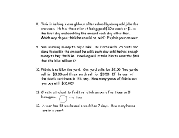 50 Math Word Problems for Grade 4 (Patterning, Geometry, Number ...