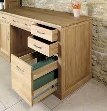 image baumhaus mobel. Baumhaus Mobel Oak Twin Pedestal Computer Desk Image