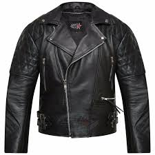 Leather Jacket With Design On Back Details About Mens Real Leather Jacket Motorcycle Vintage Brando Biker Perfecto Jacket