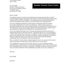 Application For Teaching Job Example Letter Of Application Teaching Job Inspirationa Sample