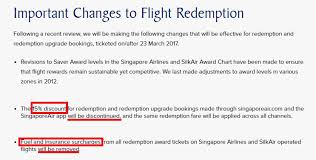 Sia Redemption Chart Saving Up Krisflyer Miles For South Africa Follow My