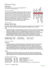 Student Cv Template No Experience Sample Cv For College Students With No Work Experience 1 10 2