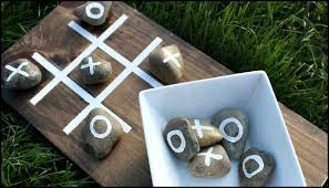 How To Make Wooden Games Make your own outdoor TicTacToe game 27