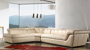 Tan Leather Sectional70