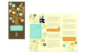 Brochure Template For Word 2007 Image Titled Make Brochures On Word Step Pamphlet Maker