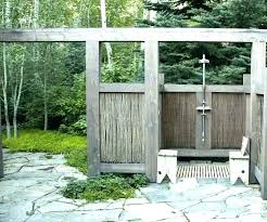 outdoor shower plans simple outdoor shower plans luxury company showers by young in free diy outdoor shower ideas