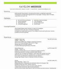 resume team leader sample team leader resume supervisor cv