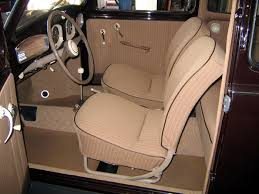 we import from germany the same material that was in your early beetle when it was new with these materials we can duplicate the original interior your