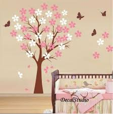 Small Picture Stunning Baby Girl Nursery Wall Decor Contemporary Home