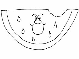 Small Picture Watermelon coloring pages 7