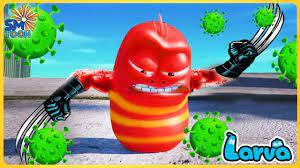 Larva Tuba - ẤU TRÙNG VUI NHỘN 2020 🍨 Phim Hoạt Hình Ấu Trùng Tinh Nghịch  Full SeaSon 1 - Bản Chuẩn