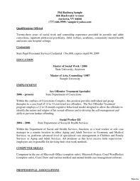 Objectiveples For Social Work Resumeple Worker Statement Objective