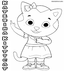 Daniel Tiger And Friends Coloring Pages