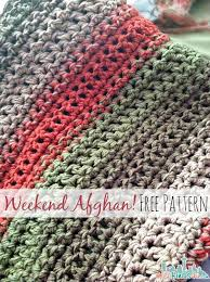 Easy Afghan Patterns Enchanting Free Pattern Fast And Easy Crochet Throw 48 Stripe Options My