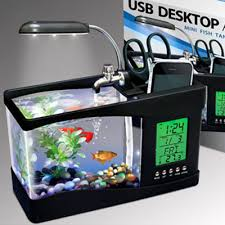 coolest office supplies. $29.71 USB Desktop Aquarium | Cool People ShopUSB Is A Great Home For Small Coolest Office Supplies L