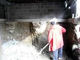 man digs nine foot basement under an