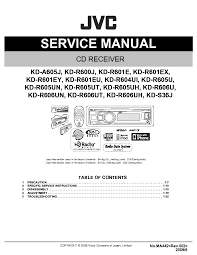 kd r330 wiring wiring diagram jvc kd r330 wire harness 24 wiring diagram images wiringjvc kd a605 r600 r601 r604 r605 r606 s36 ma442 sm pdf 1 jvc kd s36 wiring