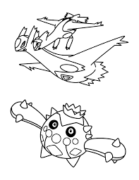Coloring Page Pokemon Advanced Coloring Pages