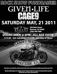 motorcycle club flyers rock show fundraiser for saddletramps motorcycle club may 21st