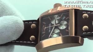 <b>Мужские</b> наручные <b>часы TW</b> STEEL TW83 - YouTube