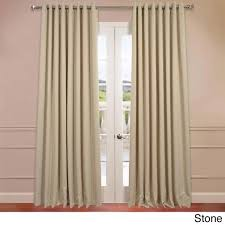 exclusive fabrics extra wide thermal blackout grommet top 108 inch curtain panel free today com 16476109