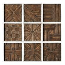 rustic wood panel wall art collage set 9 square mid century modern on rustic wood panel wall art with rustic wood panel wall art collage set 9 square mid century modern