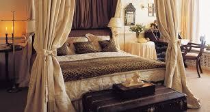 stunning leopard print bedroom
