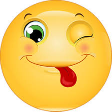 Wink Tongue Out Emoticons For Facebook Email Sms Id 299