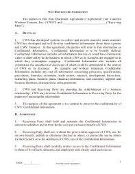 Employment Confidentiality Agreement   Nfcnbarroom.com
