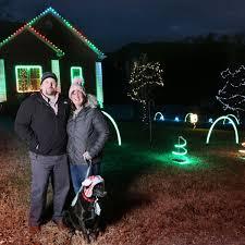 Christmas Lights Roanoke Va 2018 Christmas Cheer Where To See Lights That Dance A Yard Of