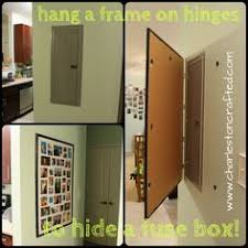 the most awesome images on the internet covering a breaker box updating fuse box to breaker box how to hide a fuse box by hanging